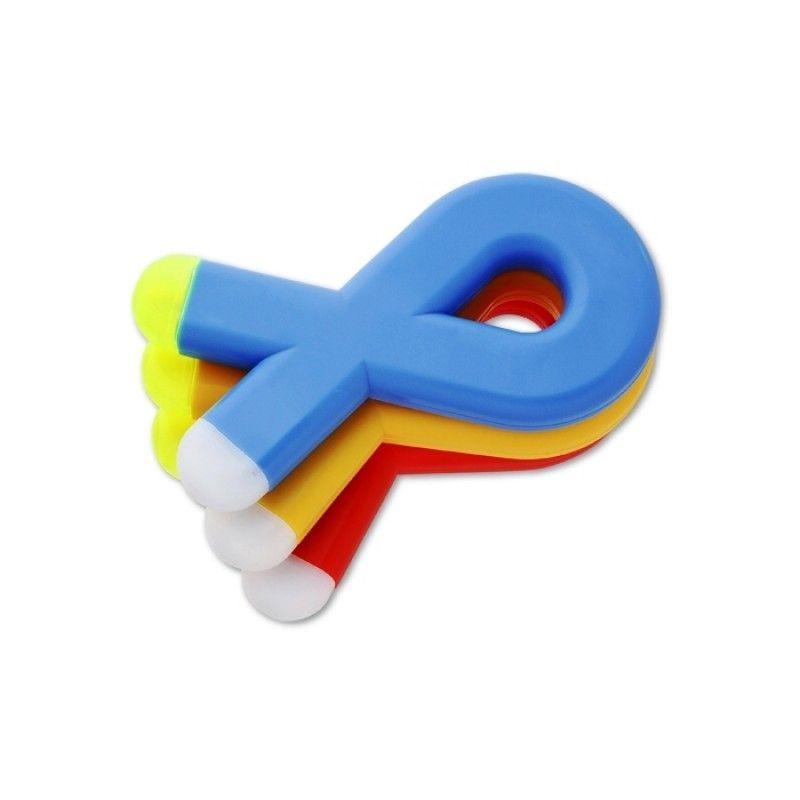 Promotional Awareness Ribbon Pen and Highlighter