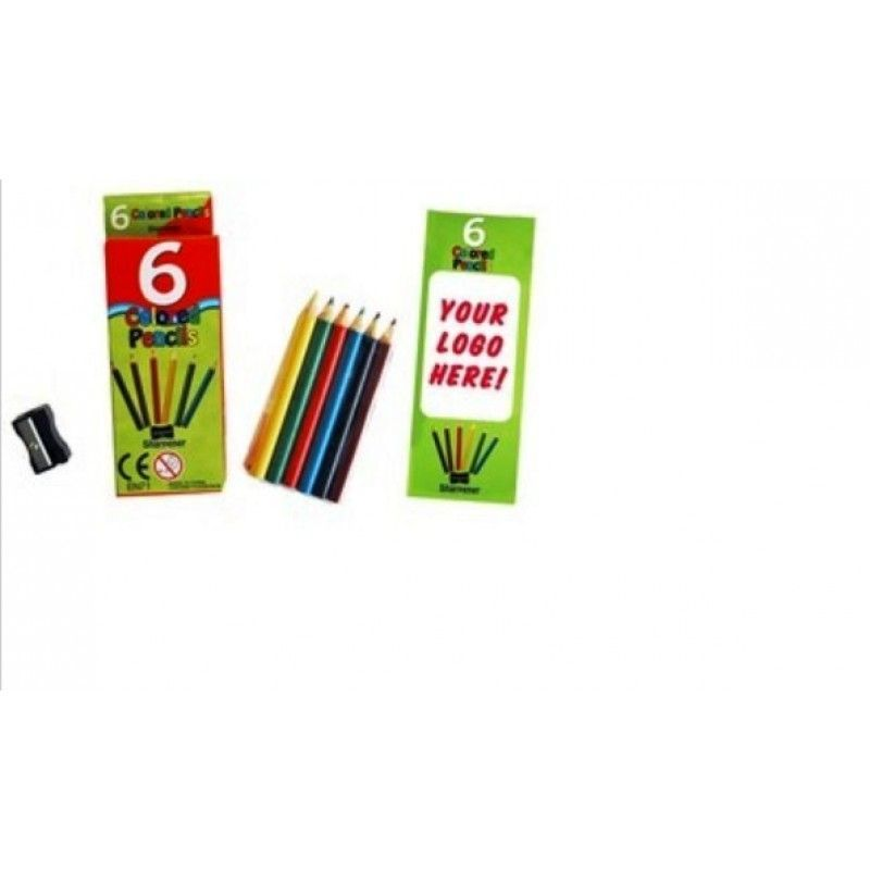 Promotional Kids Colored Pencil Set
