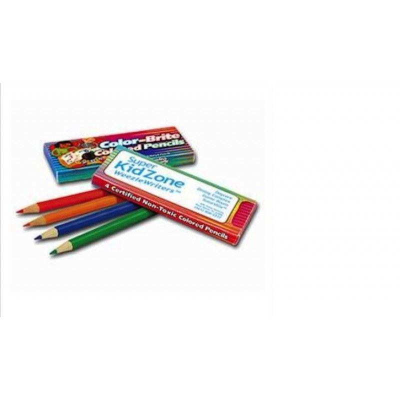 Promotional Colored Pencils, 4 Pack
