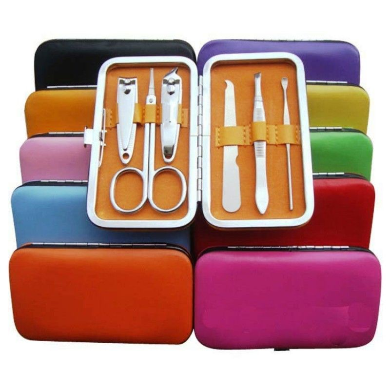 Promotional 6 Pieces Finger Nail Manicure Sets/ Beauty Manicure Kit