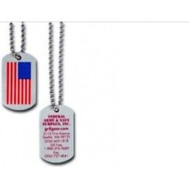 Promotional Plastic Dog Tags