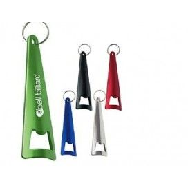 Promotional Tepee Bottle Opener Key Ring