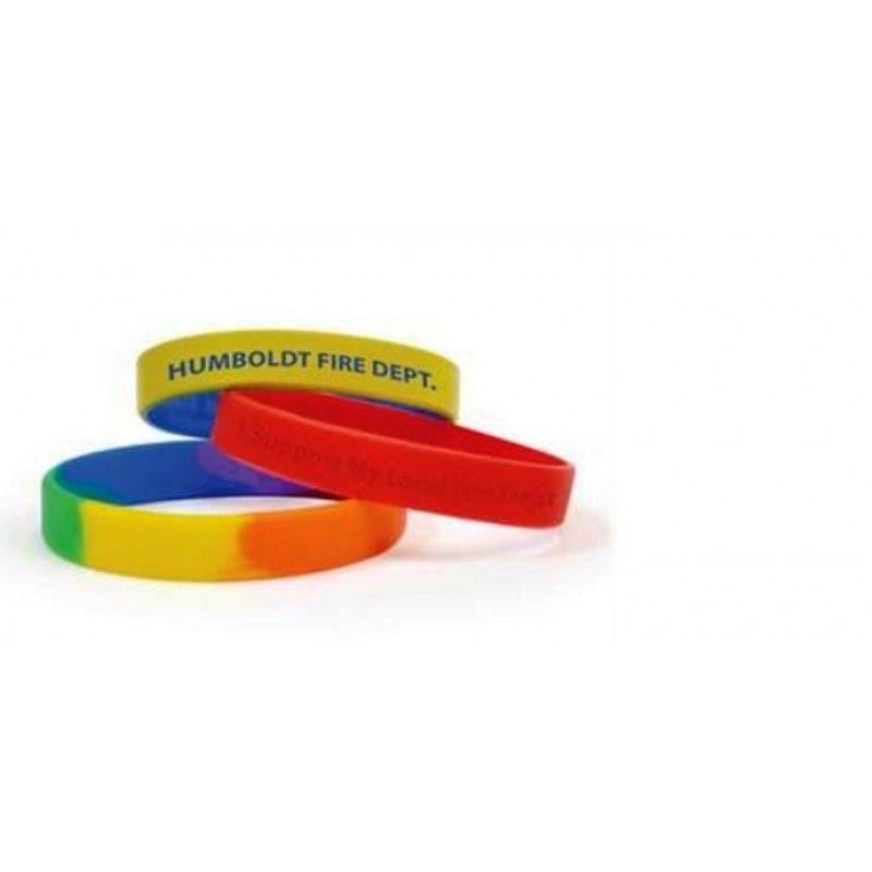Promotional Custom Color Awareness Bracelet Silicone Wristband