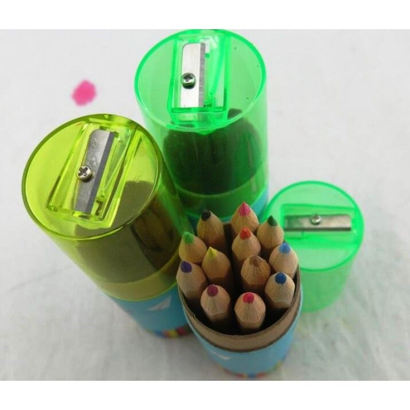 Promotional 12 Colors Wooden Pencil