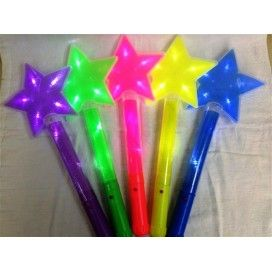 Promotional LED Star Flashing Cheering Stick