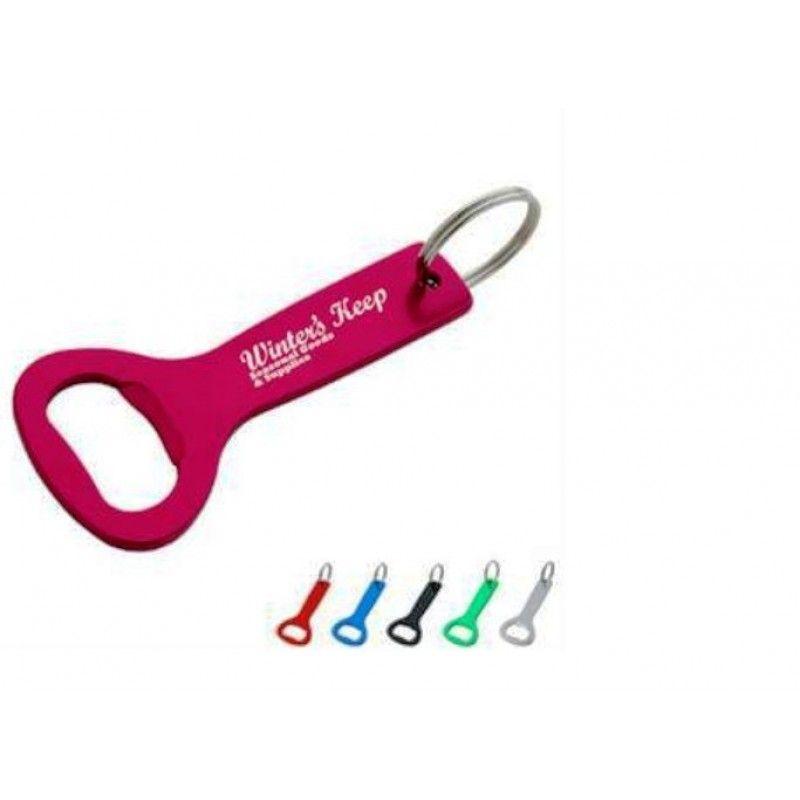 Promotional Aluminum Bottle Opener Key Ring