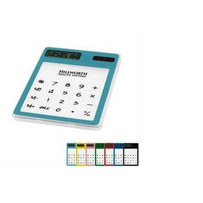 Promotional See Thru Solar Calculator
