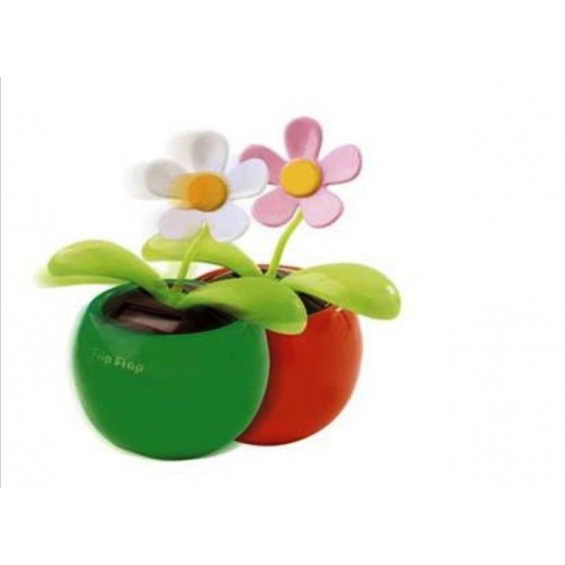 Promotional Dancing Flower Solar-Powered Desk Toy
