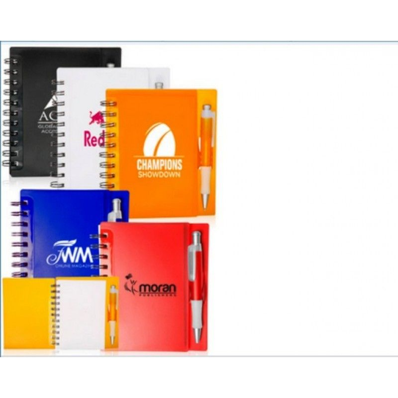 Promotional 5.75 in x 6.25 in The Wallstreet Notebooks
