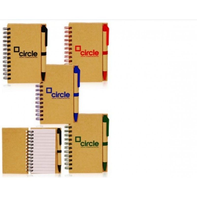 Promotional 2.75 x 4.75 in Mini Custom Spiral Notebooks