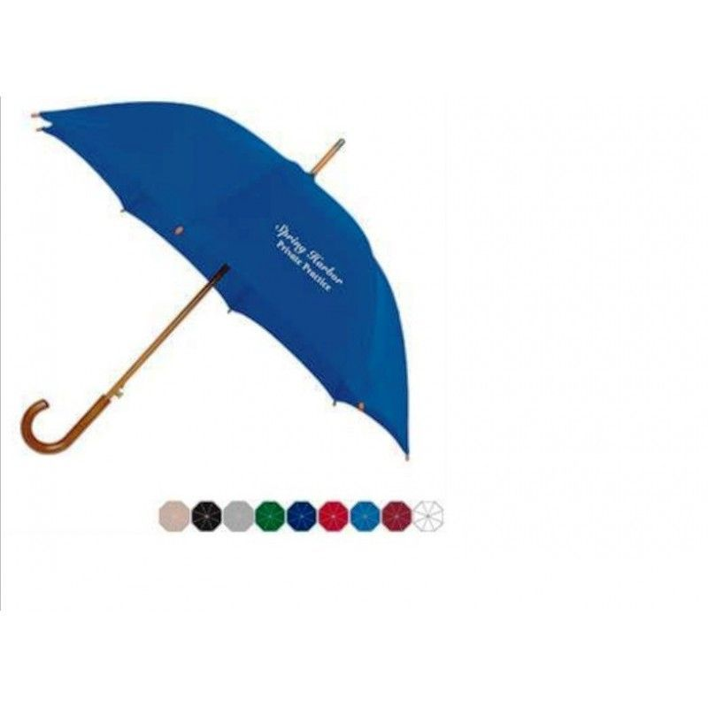 "Promotional Auto Open Fashion Umbrella, 48"" Arc"
