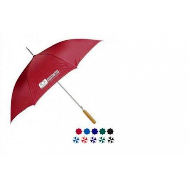 "Promotional Auto Open Stick Umbrella, 48"" Arc"
