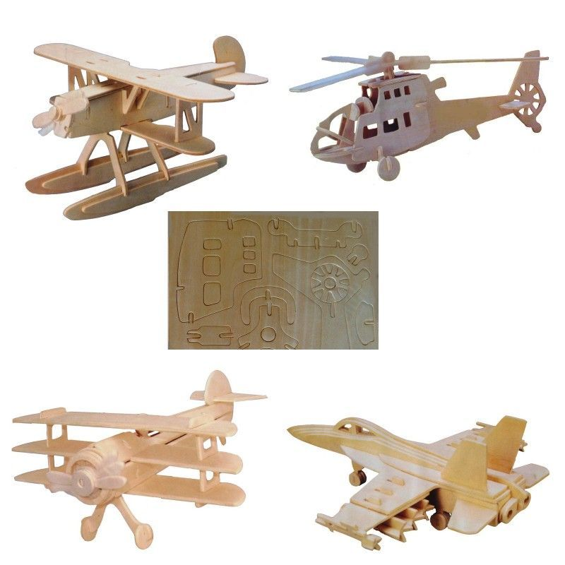 Promotional Diy Airplane Model Toy
