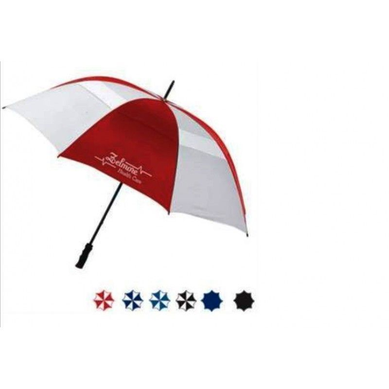 "Promotional Bogey Vented Golf Umbrella, 60"" Arc"