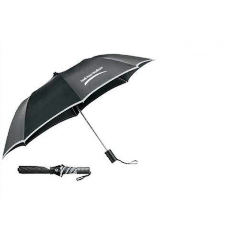 "Promotional Auto Folding Safety Umbrella, 42"" Arc"