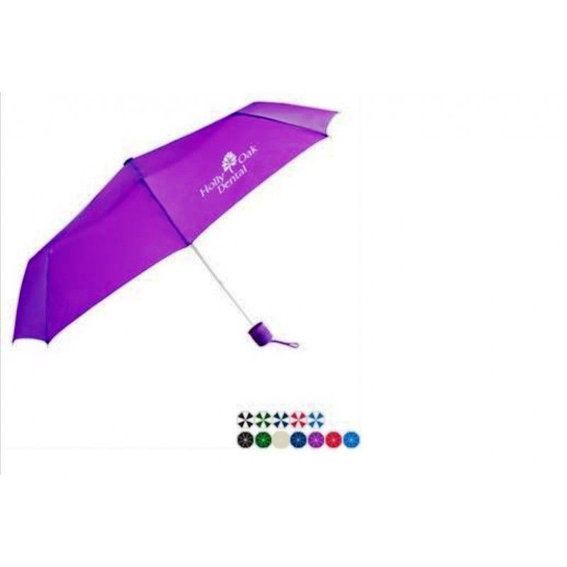 "Promotional Commuter Mini Manual Umbrella, 43"" Arc"