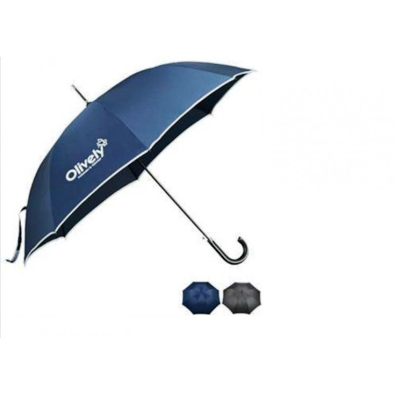"Promotional Balmain Runway Stick Umbrella, 55"" Arc"