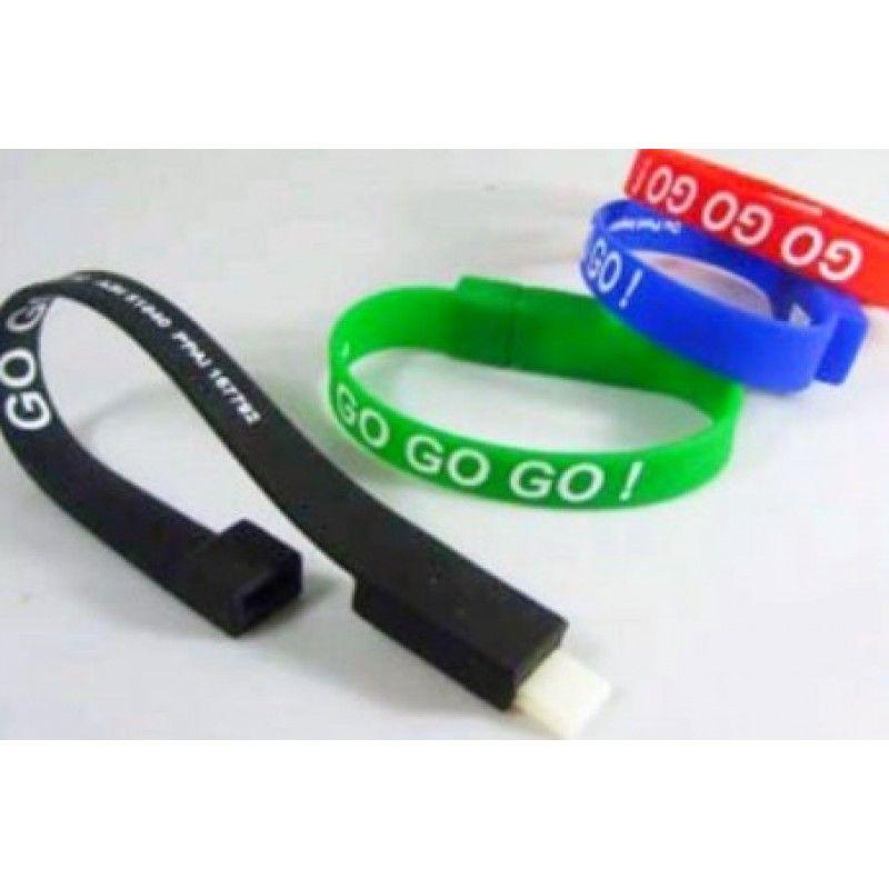Promotional Bracelet USB Flash Memory Stick 4GB/8GB