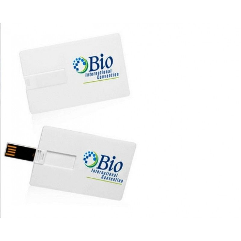 Promotional 1GB/2GB Flip Card Printed USB Flash Drives