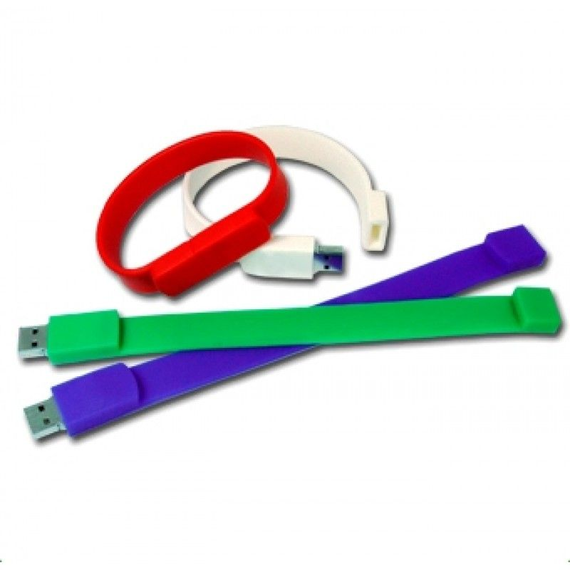 Promotional 16Gb Wristband Flash Drive