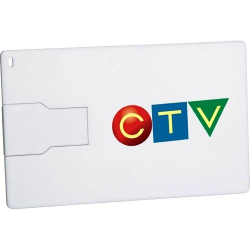 Promotional 128MB Slim Credit Card Flash Drive